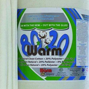 Warm 80/20 - Natural Cotton + Pillow Soft Polyester