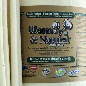 Warm & Natural Needled Cotton Batting