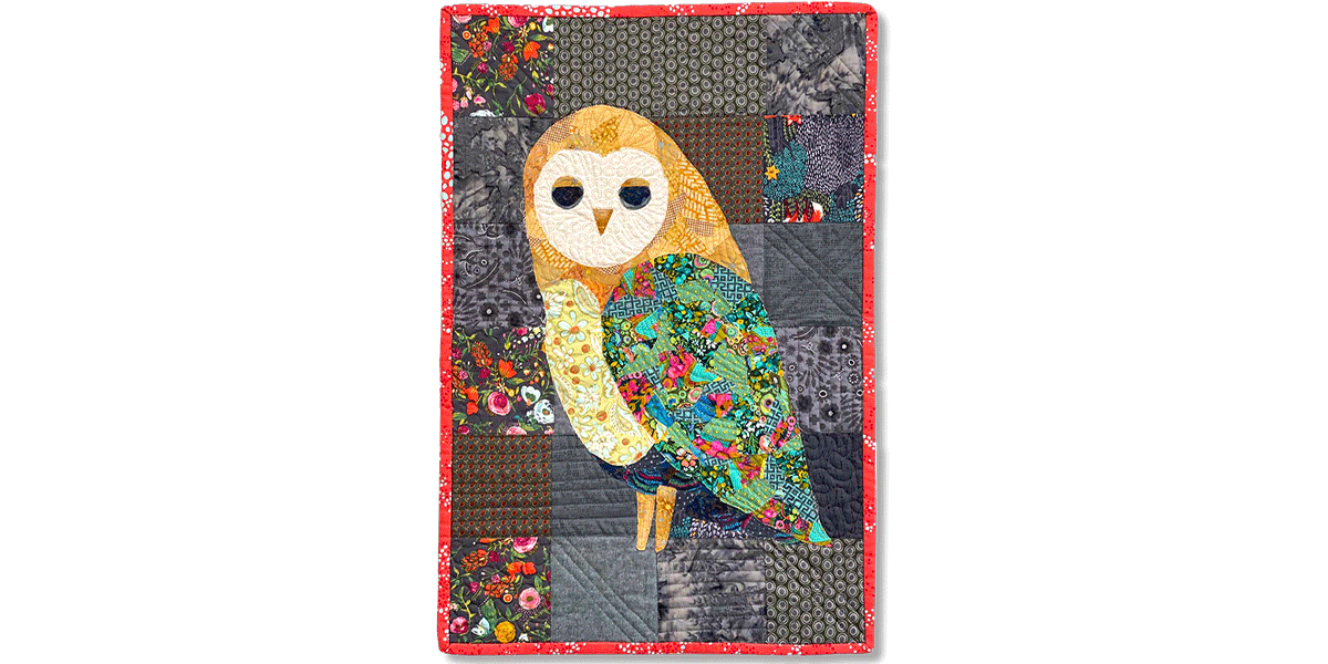 Oliver the Owl Collage Quilt